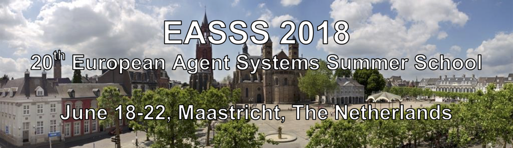 Tutorial Descriptions | European Agent Systems Summer School