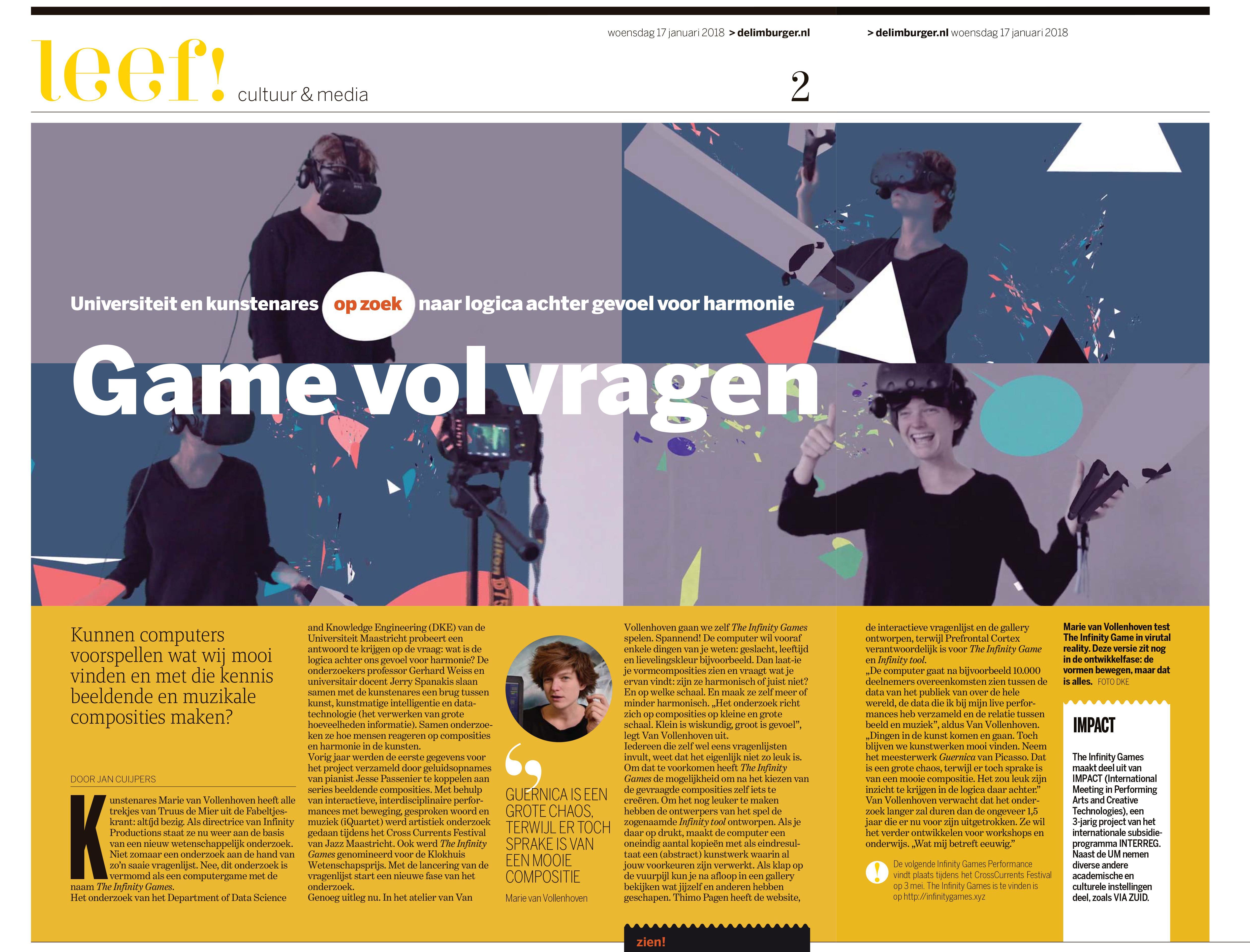 Article in De Limburger