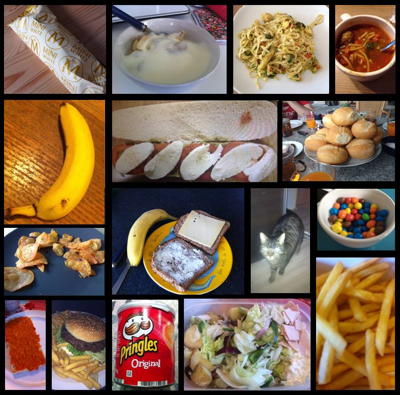 Comparing two techniques for automatic food image classification example instances of the original food image data set forumfinder Images